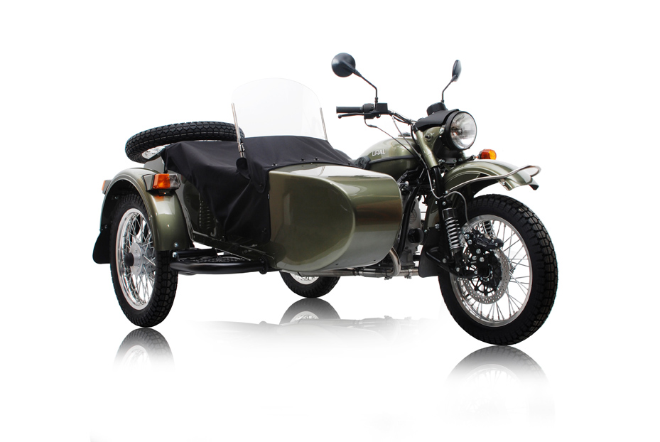 Ural Tourist 2015 Color Metallic Green