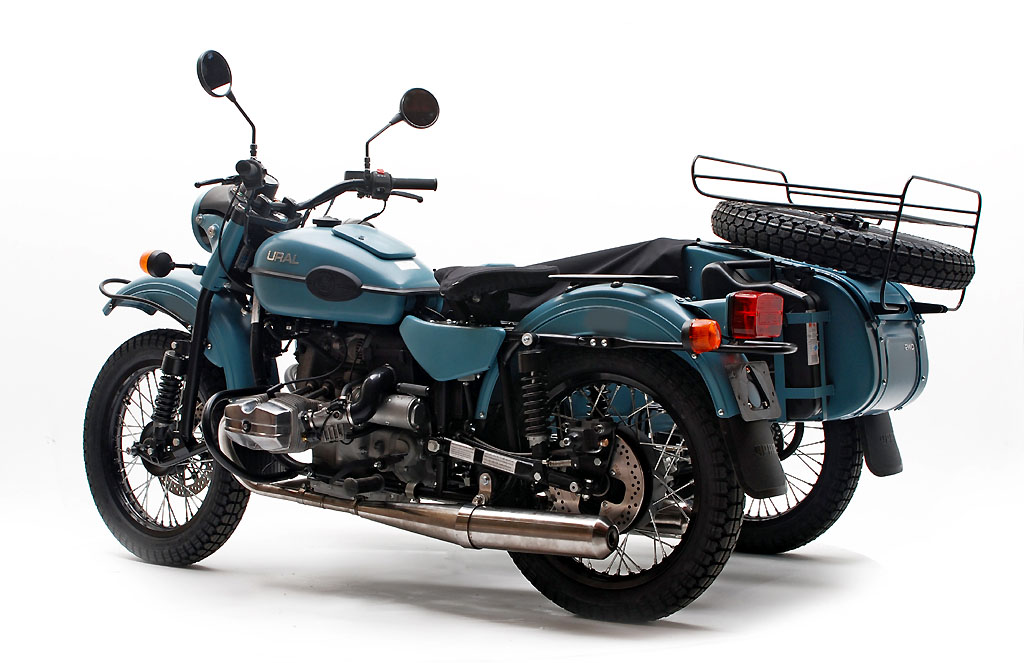 Ural Tourist 2015 color azur